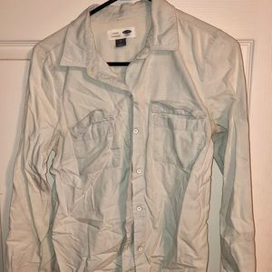 Old Navy Small Light Denim button down